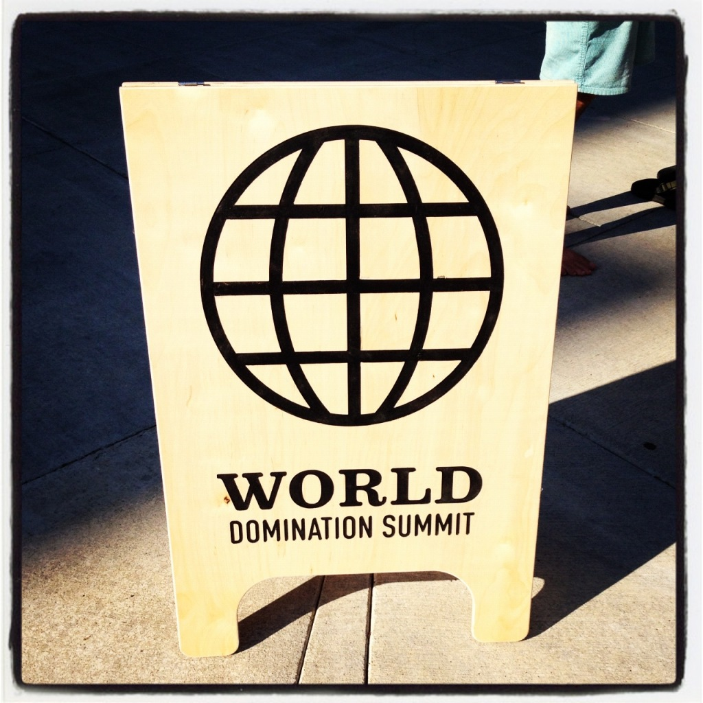 Variants.... World domination summit think