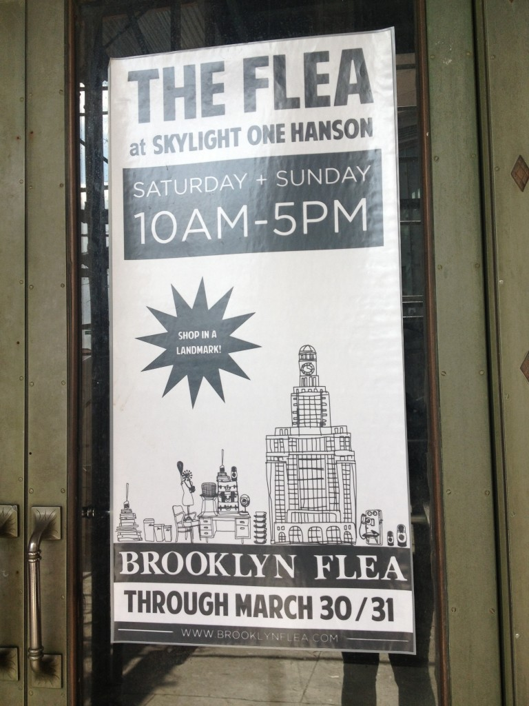 Welcome to the Brooklyn Flea