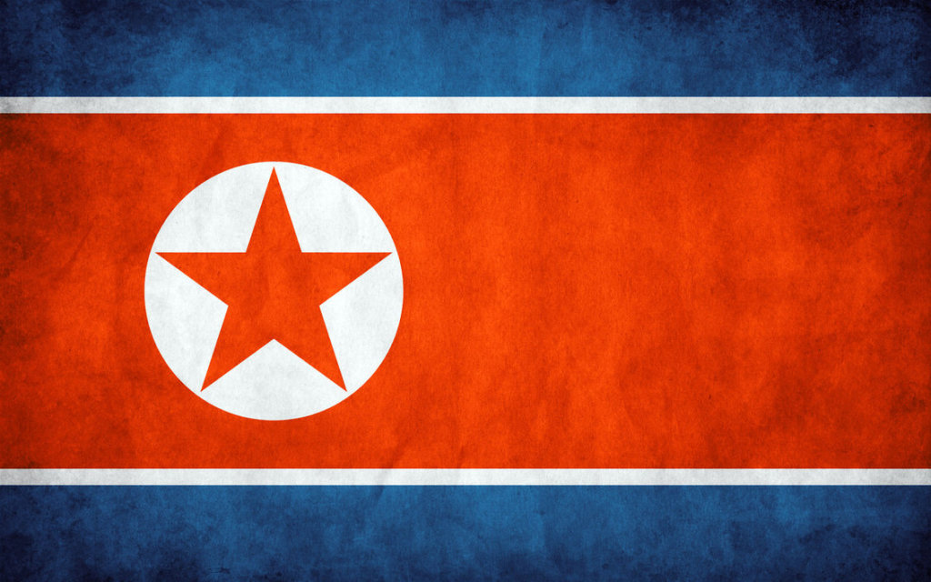 North_Korea_Grunge_Flag_by_think0
