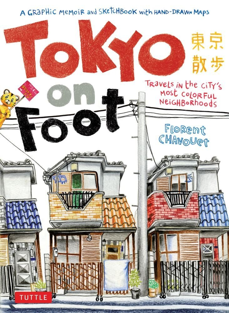 Tokyo On Foot book cover