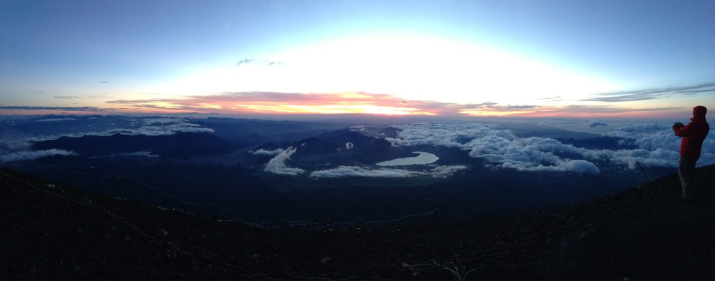 Mt Fuji Summit Sunrise