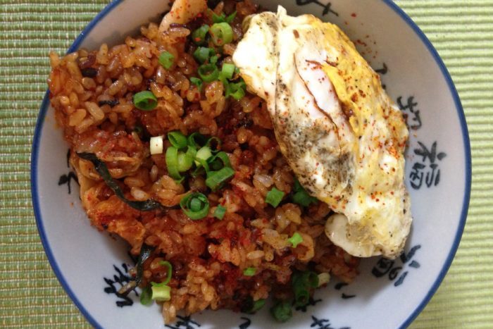 Fresh Recipe: Kimchi Fried Rice