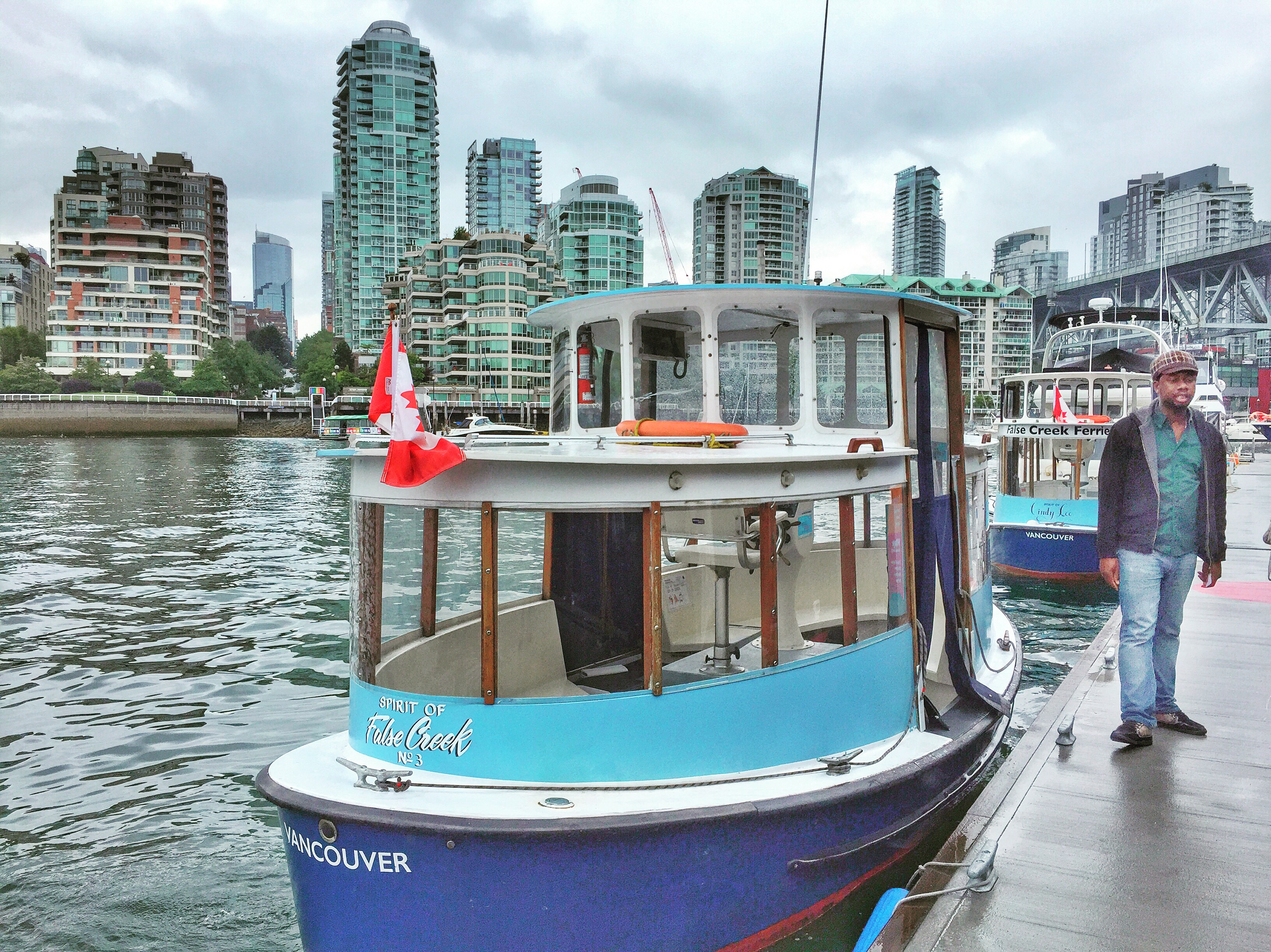 Ferry to Granville Island Context Travel