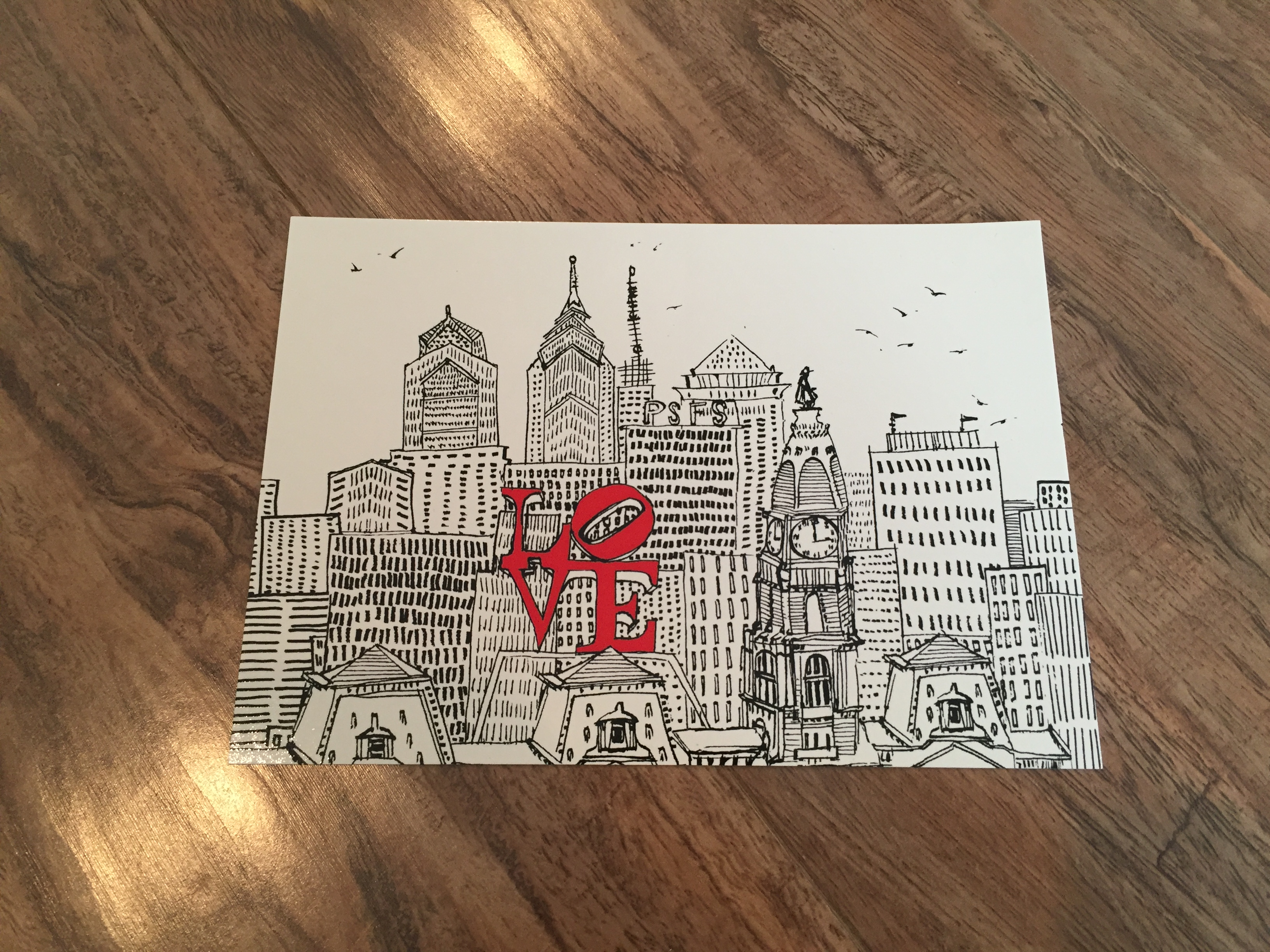 Philly Postcard